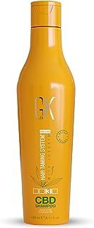 GK HAIR Global Keratin Hemp Shampoo (240ml / 8.11 FL Oz ) Idratante, rinforzante, colore trattato, riparazione danneggiat...