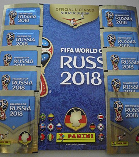 PANINI WM 2018 Russia RUSSIA WORLD CUP 50 pezzi scegliere Sticker