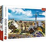 TREFL 26147 Puzzle 1500 Pieza(s) - Rompecabezas (Edificios, Niños, Park Güell, Barcelona, Niño/niña, 12 año(s), Cartón)
