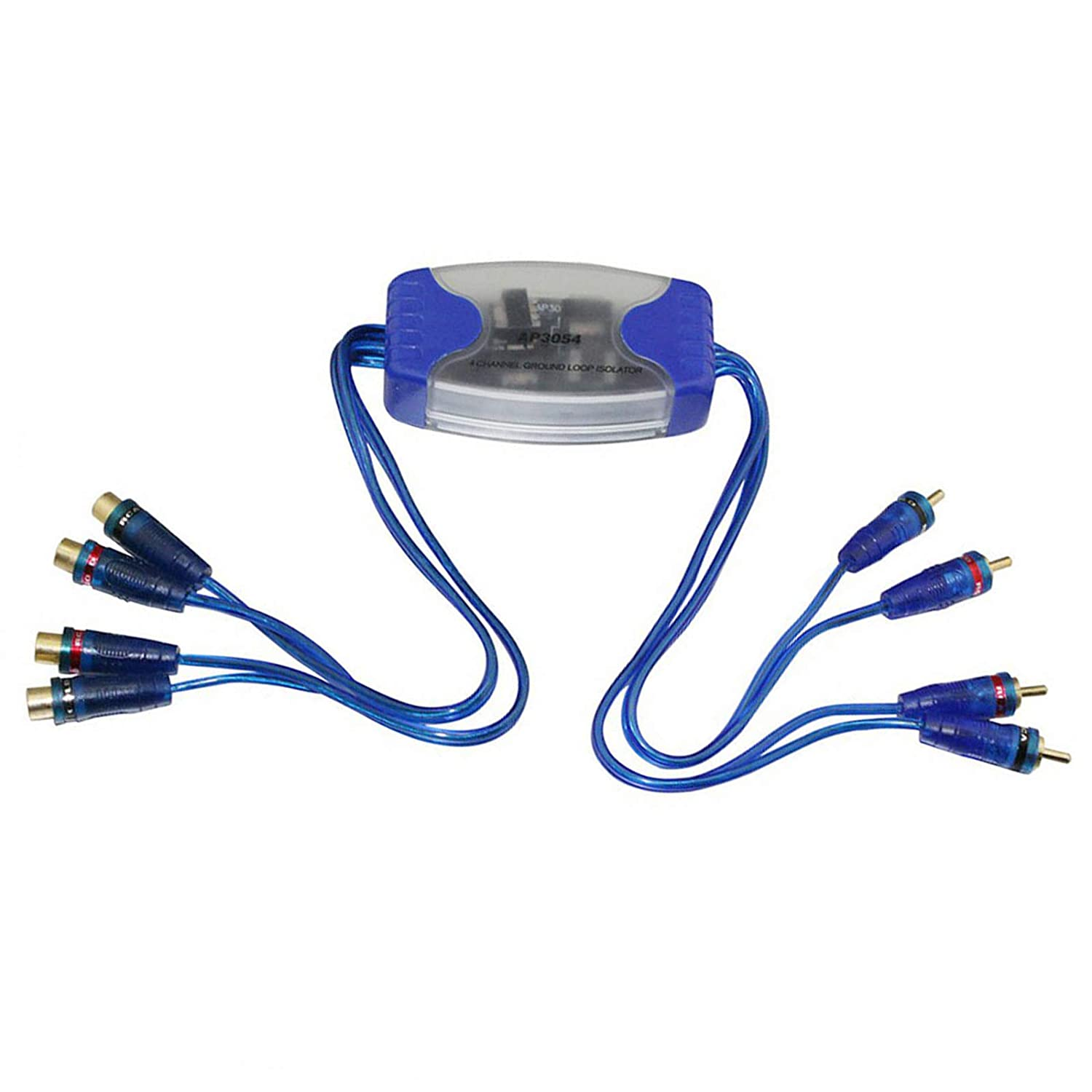 Soapow 4RCA Max 62% OFF Audio Noise Filter Ground Loop Stereo Isolator N Car Sale Special Price