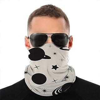 Nother Monokrom symbol planet vetenskap ansikte scarf skydd utomhus sport kvinnor män ansikte skydd variation ansikte hand...