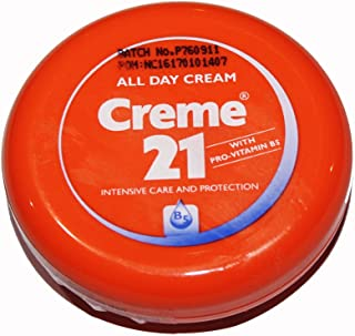 Creme 21 - all Day Cream - with Pro Vitamin B5 - Intensive Skin Care and Protection 150milliliter