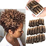 Alicequeenhair 1B/27# : 5 Inch 20 Strands/Pack Jamaican Bounce Crochet Hair Wand Curl