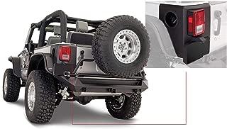 Bushwacker 14009 Jeep Trail Armor Rear Corner Pair