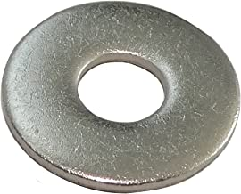 AERZETIX: 100x Arandelas planas M5 Ô5.3x15mm H1.2mm DIN9021 acero inoxidable A2 C17669