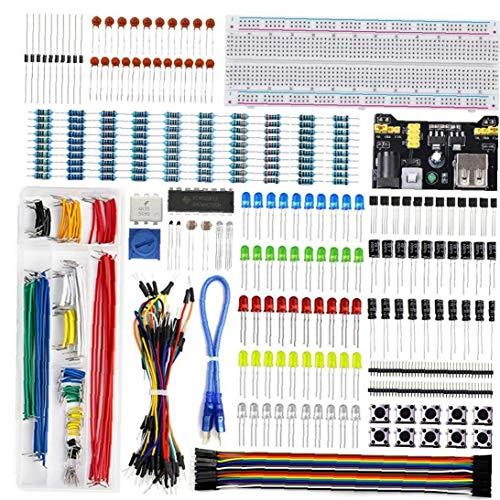 linjunddd Uno R3 De Electrónica Proyecto Starter Kit De Tablero Aprender Programación De Componentes Kit para Junta De Desarrollo