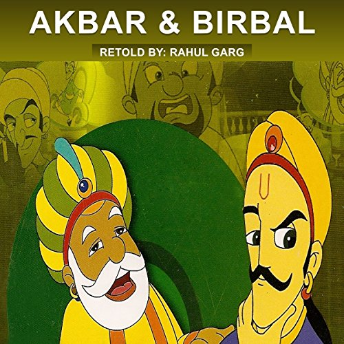 Akbar and Birbal audiobook cover art
