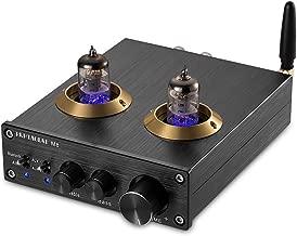 Nobsound Bluetooth Vacuum Tube Power Amplifier Class D HiFi Digital Audio Amp 100W (50W×2) (Black)