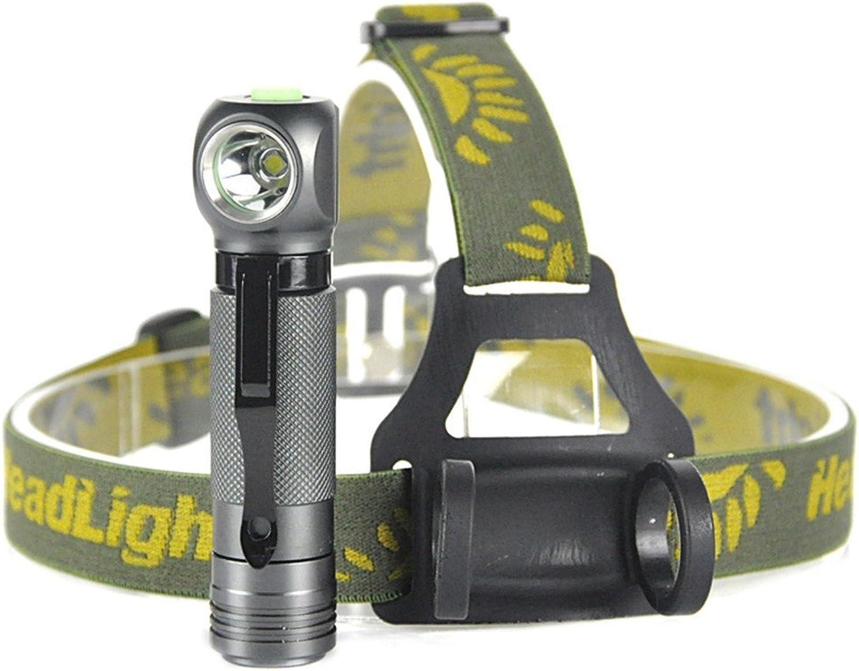 Scheinwerfer 1000LM XPL V5 LED Scheinwerfer 3 Modus wasserdichte Scheinwerfer Camping Jagd Kopf Taschenlampe 18650 Akku Taschenlampe