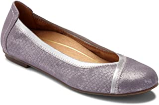 4139a91b3dec Vionic Women's Spark Caroll Ballet Flat - Ladies Dress Casual Shoes with  Concealed Orthotic Arch Support