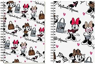 Cuaderno 80 Hojas de Minnie Mouse Tapas Duras 215x310mm