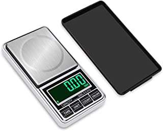 Báscula de pesaje, enchufable USB Báscula de joyería de Oro portátil Pesaje electrónico 0.01g Gramo Báscula de Bolsillo de Palma Balanza Báscula de Plataforma doméstica 600g / 0.01g (Tamaño: 500g / 0