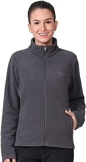outdoorgo Women's Athletic Classic Fit Full Zip Fleece...