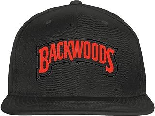 Snapback Hat Backwoods Hat Graphic Baseball Cap Unisex Gift 6 Panel Black