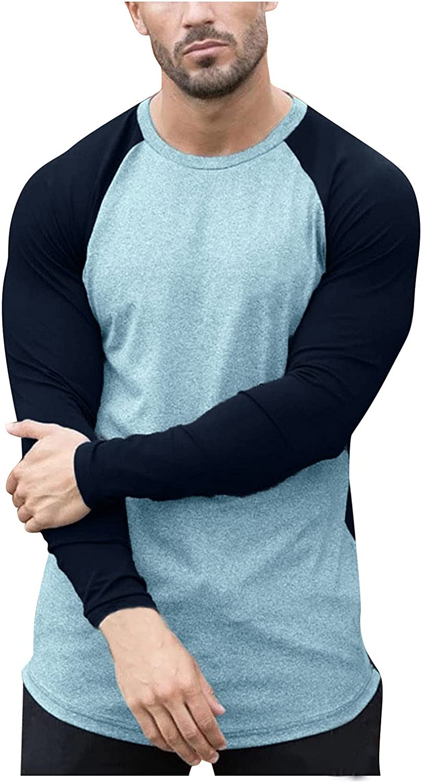 Fishing T Shirts for Men UV Sun Protection UPF 63+ Long Sleeve Tee T-Shirt Round Neck V-Neck