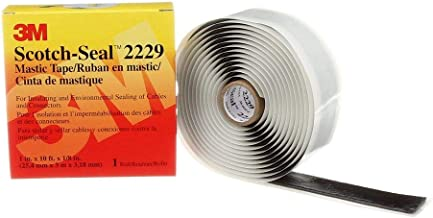 3M Scotch-Seal Mastic Tape Compound 2229, 1 in x 10 ft