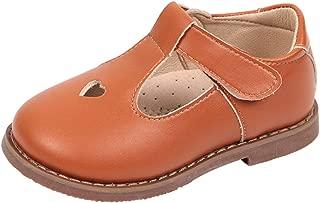 Girls Oxfords Shoes T-Strap Casual Walking School Uniform Dress Princess Mary Jane Flats