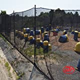 MP Indoor Paintball Netting - 16' x 200' Roll - Flame Retardant MP-NT-B16200FR