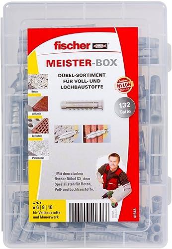 Fischer Dübel SX mit Schraube 5 Stk Spreizdübel Schwerlastdübel Profidübel