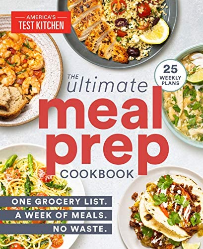The Ultimate Meal Prep Cookbook One Grocery List A Week of Meals No Waste product image