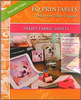 Electric Quilt Photo 6pc Printables Inkjet Fabric Sheet, Off-White
