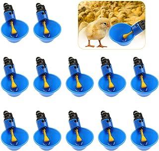 Abbeveratoi Automatici per Pollo Quaglia Anatra SNOWINSPRING Tettarelle da Biberon per Pollame Confezione da 25 Tettarelle di Pollo con Montaggio Laterale Orizzontale