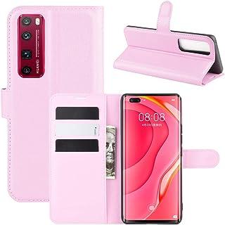 携帯電話保護ケース for Huawei Nova 7 Pro 5G Litchi Texture水平フリップ保護ケース用ホルダー&カードスロット&ウォレット付き 携帯電話シェル