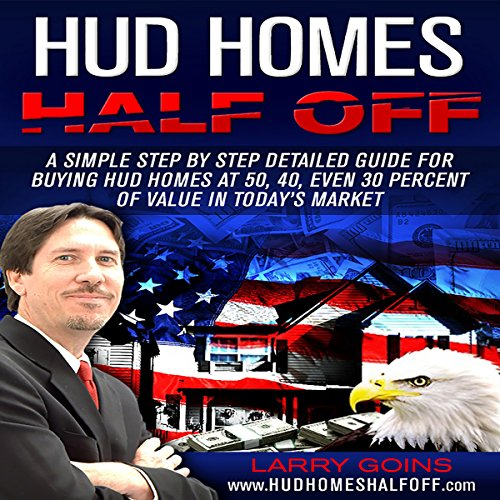 HUD Homes Half Off! audiobook cover art