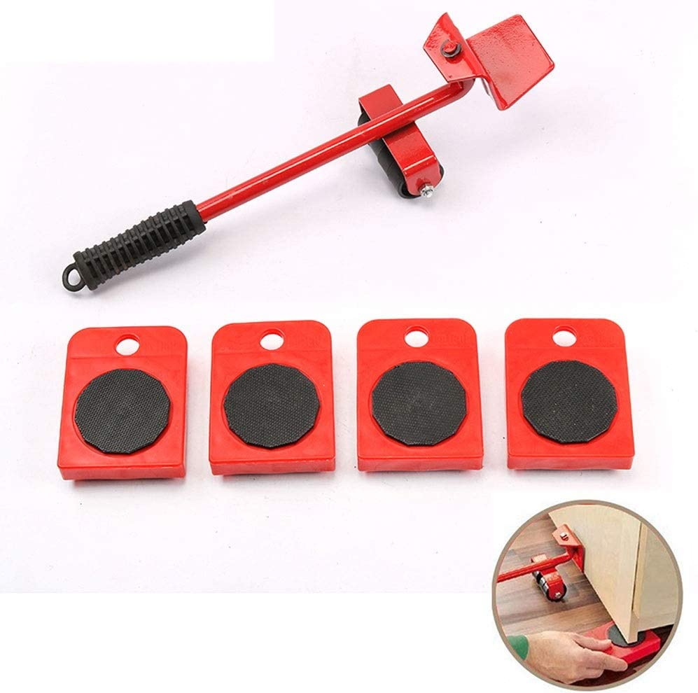 Ranking integrated 1st place NBGG Lifting Tool Furniture Lifter New sales with He 4 Pack Sliders Moving