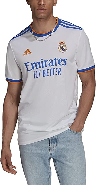 adidas Men's Real Madrid 2021-22 Home Jersey