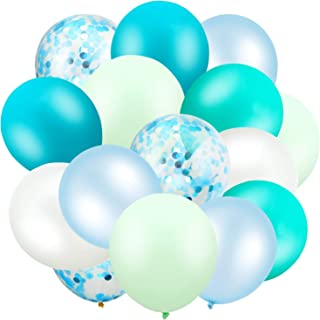 Best aqua color party decorations Reviews