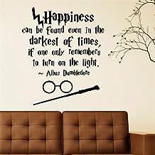 Sticker La Magia De Harry Potter, La Felicidad, Se Puede Encontrar, Incluso Hogwarts, Arte, Etiqueta, Calcomanía, Decoración Del Hogar, Sala De Vinilo, Decoración, Pegatinas De Pared