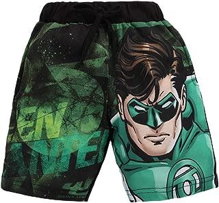Eteenz by Hopscotch Boys' Cotton Justice League Print Shorts in Black Colour