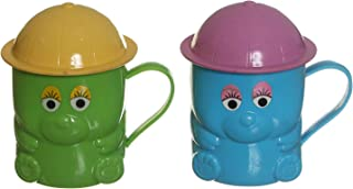 Winner Plast Drinkware Set Of 2 Mug - Multi Color
