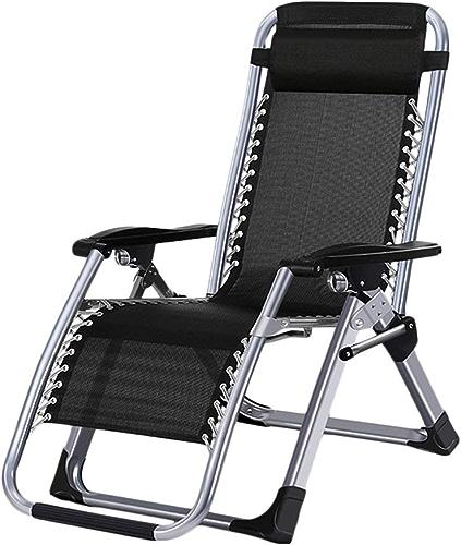 Chaise Pliante Déjeuner Multi-Fonctions paresseuse Chaise Siesta Chaise Beach Home Cool Chaise Lit Paresseux Simple Portable