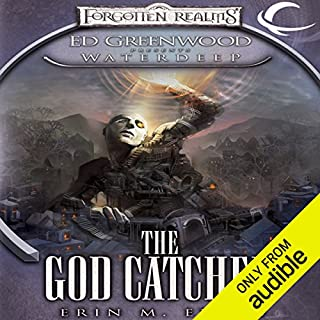 The God Catcher audiobook cover art
