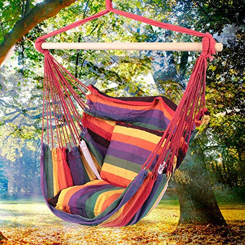Columpio al aire libre, al aire libre del platillo del árbol de la calidad de la lona material de la lona de la silla colgante