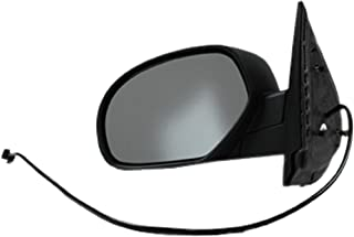 Dorman 955-1482 Driver Side Power Door Mirror - Heated / Folding for Select Cadillac / Chevrolet / GMC Models, Black