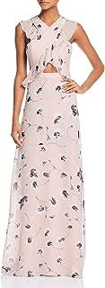 bcbg floral gown
