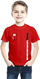 American-Elm Regular Fit Cotton Printed T-Shirt for Boys, Half Sleeves Tshirts for Kids