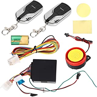 One-Way Motorcycle Alarm Anti-Theft Security Voice Prompt Vibration Alarming 12V