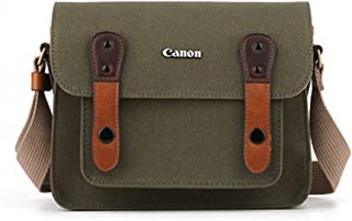 CANON D-SLR RF Mirrorless Pocket Shoulder Bag Case 6520 Khaki for Lens EOS M M2 M3 100D 400D 450D 500D 550D 600D 650D 700D 750D