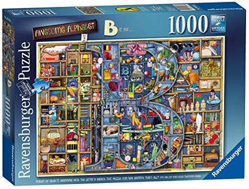 """Ravensburger Puzzle Colin Thompson - Awesome Alphabet """"B"""", mit 1000Einzelteilen (englische Version)"""