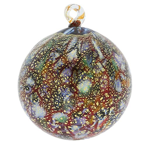 GlassOfVenice Murano Glass Medium Christmas Ornament - Festive Lights