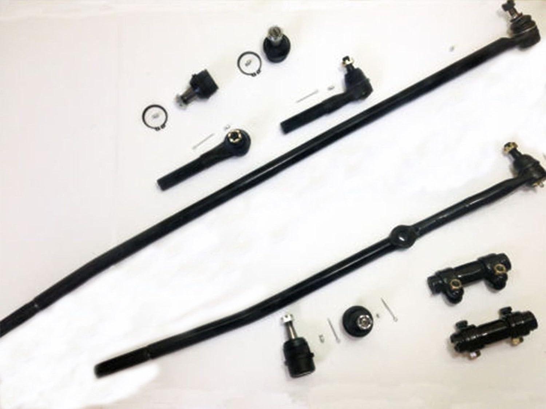 Award 10 Piece Kit Drag Link Outer Rods Tie Adjusting Upper Manufacturer regenerated product Sleeves