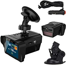 $64 » Mkcether 2 in 1 DVR Car Driving Recorder and Car Electronic Dog Radar Detector Rearview Mirror Vehicle Video Camera Recorder, Speeding Alerting, G-Sensor, Loop Recording, Motion Detection