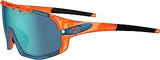 Tifosi Optics Sledge Sunglasses (Crystal Orange, Clarion Blue/AC Red/Clear)