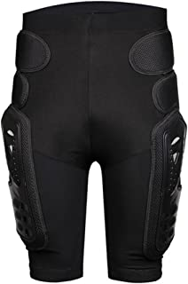 Cather Store Protective Armor Pants Hockey Knight Gear for Motorcycle Motocross Racing Ski Protect Pads Sports Hips Legs (X-Large)