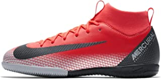 Official Brand Nike Mercurial Superfly Academy CR7 DF Indoor Football Trainers Juniors Crimson