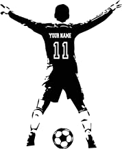 Best personalized soccer wall decals Reviews